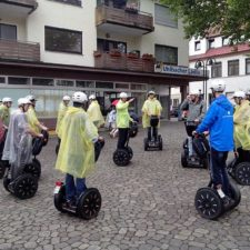 Segways mieten am Niederrhein - Teambuilding