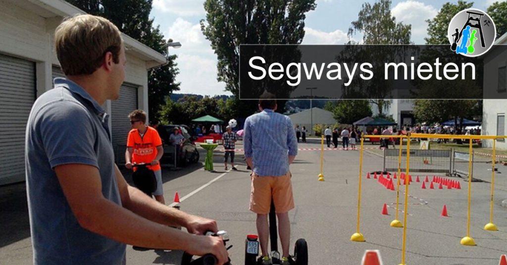 Segways mieten am Niederrhein - Autohaus-Events