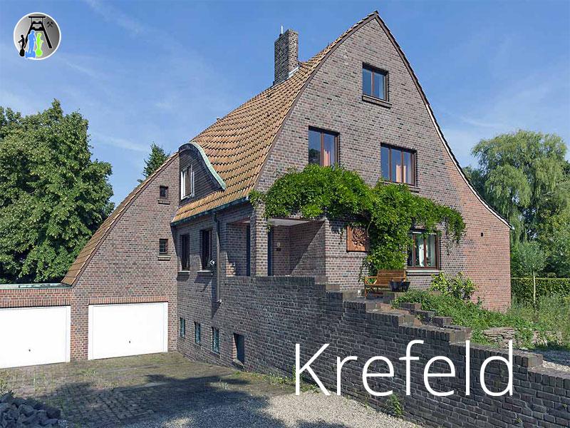 Segwaytouren in Krefeld - das Poelzig-Haus aus der Bauhaus-Ära