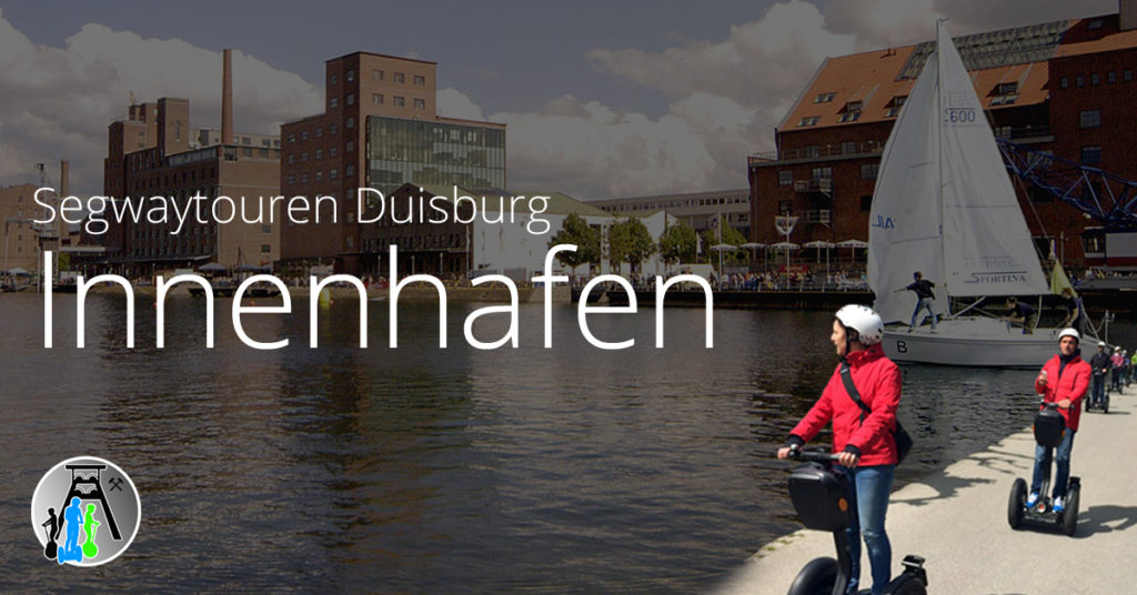 Segwaytouren in Duisburg ► Start im Innenhafen wahlweise nach Süden oder Landschaftspark Nord