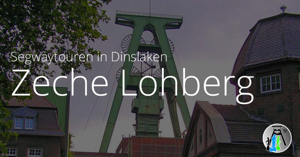 Segwaytouren in Dinslaken Zeche Lohberg