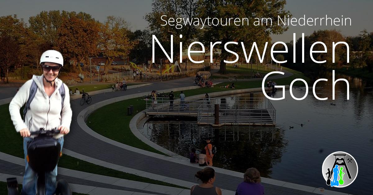 Buchen Sie eine Segwaytour in Goch - Gruppenangebot ab 6 Teilnehmer ab 69€