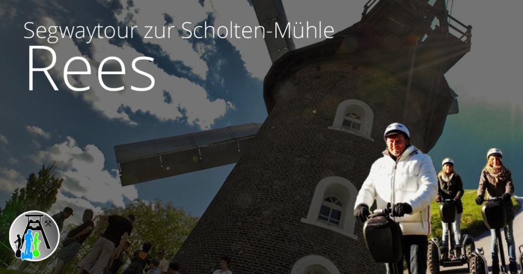 Segwaytouren in Rees am Niederrhein - Hier Termin für Gruppentour vereinbaren